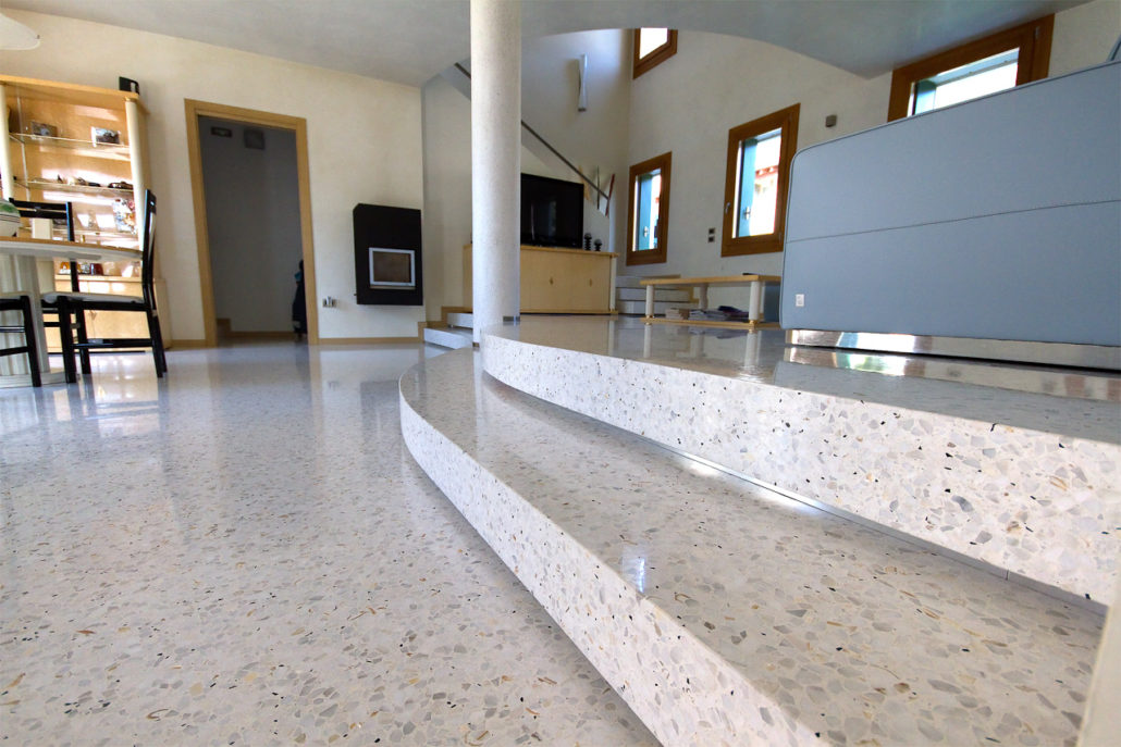 Venetian Floors: handmade Venetian terrazzo and floor