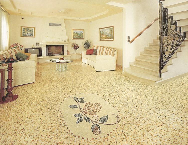 Pavimenti alla veneziana in stile classico for Veneziana pavimento